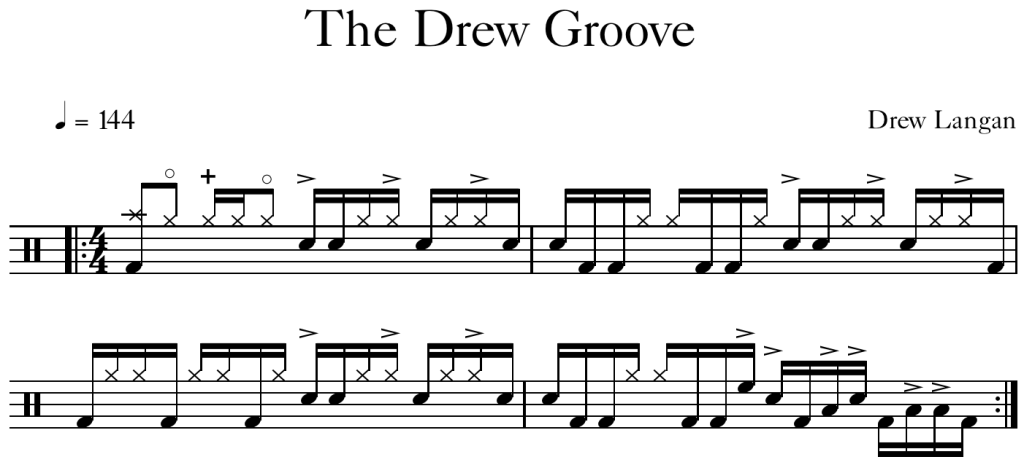The Drew Groove (new)